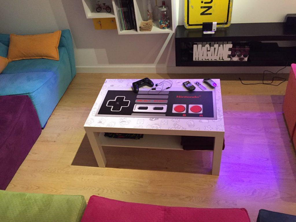 Decoración Mesa Nintendo